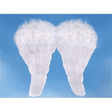 Obrázek Andělská křídla bílá - střední 52 x 45 cm