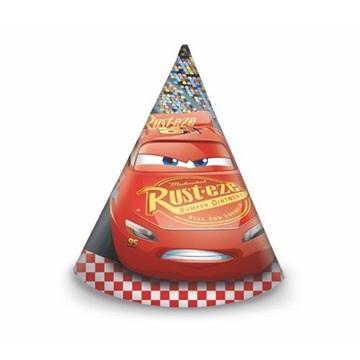 Obrázek Party čepičky Cars 3 6 ks
