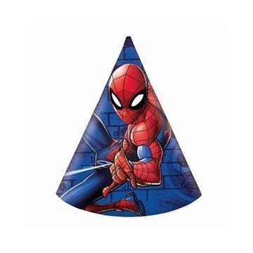 Obrázek Party čepičky Spiderman Team Up 6 ks