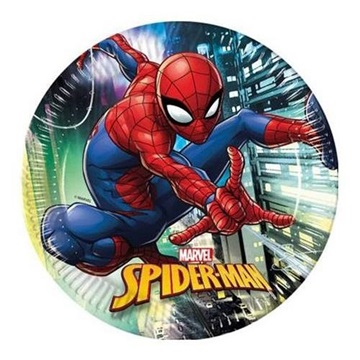 Obrázek Papírové talíře Spiderman Team Up 23 cm - 8 ks