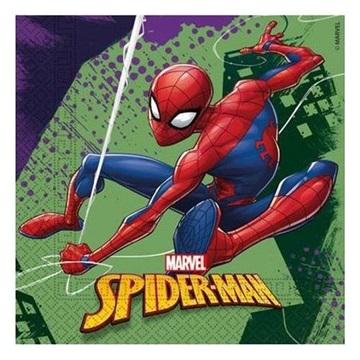 Obrázek Papírové party ubrousky Spiderman Team Up 20 ks