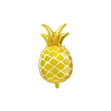 Obrázek Foliový balonek zlatý ananas 67 cm