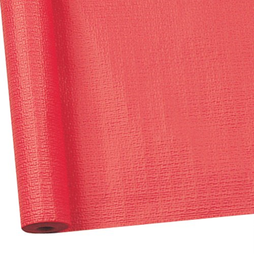 Obrázek z Papírový ubrus v roli červený 700 x 118 cm