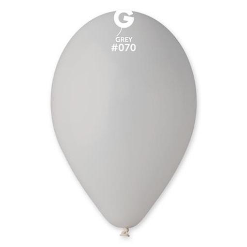 Obrázek z Balonky 26 cm - šedé 100 ks