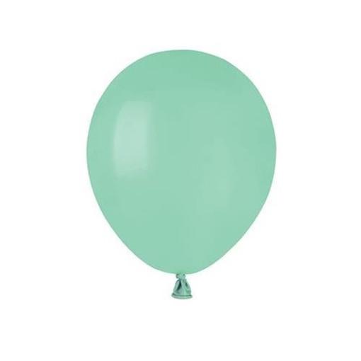 Obrázek z Balonky 13 cm - mint - 100 ks