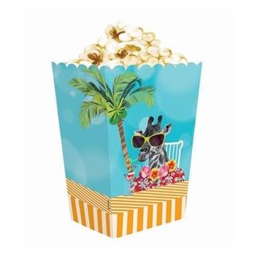 Obrázek Krabičky na popcorn Havajské 4 ks