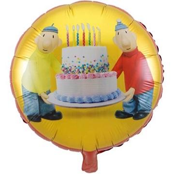 Obrázek Foliový balonek Pat a Mat 45 cm