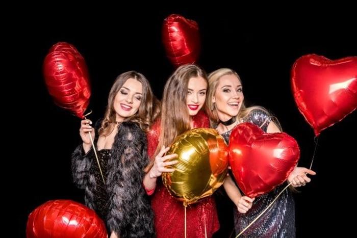 Valentýn s balonky