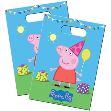 Obrázek Party tašky prasátko Peppa 8 ks