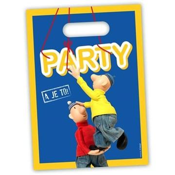 Obrázek Party tašky Pat a Mat 8 ks