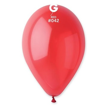 Obrázek Balonek krystalický červený 30 cm