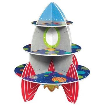Obrázek Papírový stojan na muffiny Vesmír