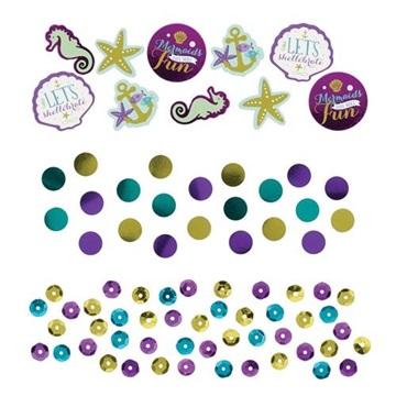 Obrázek Party konfety Mořská panna 14 g