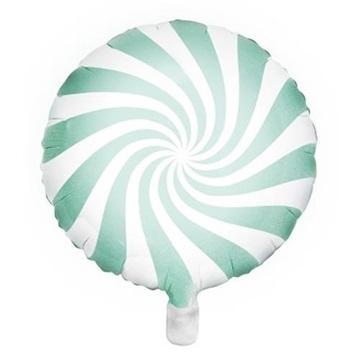 Obrázek Foliový balonek bonbón mint 45 cm