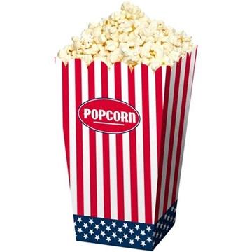 Obrázek Krabičky na popcorn USA 4 ks