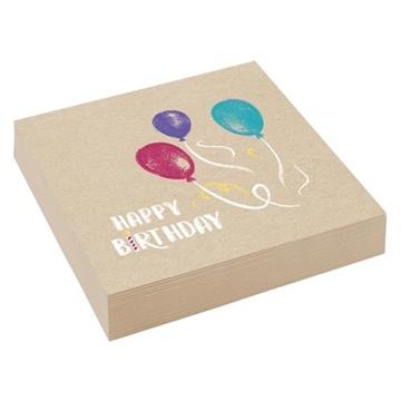 Obrázek Party papírové ubrousky My Birthday 20 ks
