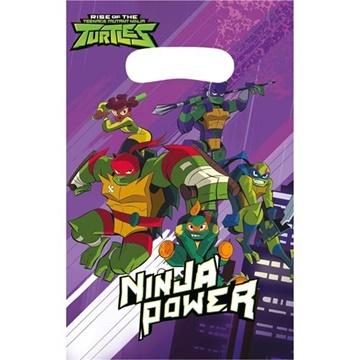 Obrázek Party tašky Želvy Ninja 8 ks