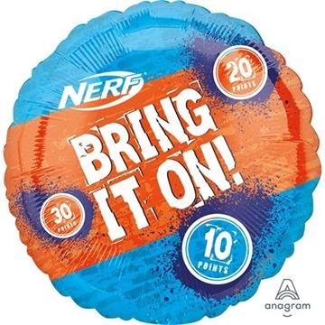 Obrázek Foliový balonek Nerf - Bring it on 71 cm