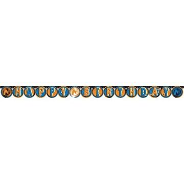 Obrázek Party nápis Nerf Happy Birthday 204 cm