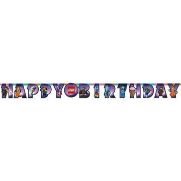 Obrázek Party nápis Lego Happy Birthday