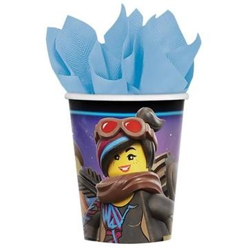 Obrázek Papírové party kelímky Lego 8 ks
