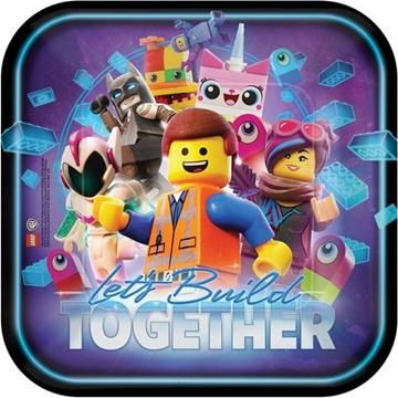 Obrázek Papírové party talíře Lego 23 cm