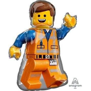 Obrázek Foliový balonek Lego postavička 60 x 81 cm