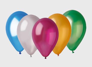 Obrázek pro kategorii Balonky metalické 26 cm
