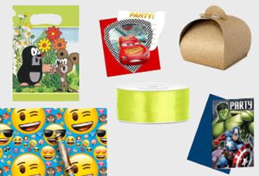 Obrázek pro kategorii Balení dárků a pozvánky