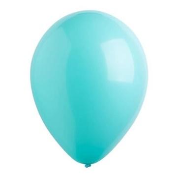 Obrázek Dekorační balonky perleťové robin egg blue 28 cm - 50 ks