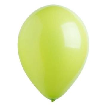 Obrázek Dekorační balonky pastelové světle zelené 28 cm - 50 ks