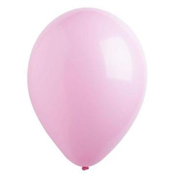 Obrázek Dekorační balonky pastelové světle růžové 28 cm - 50 ks