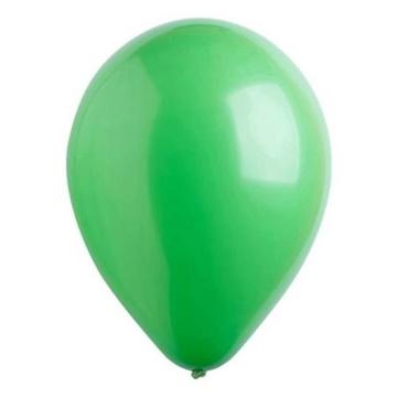 Obrázek Dekorační balonky pastelové zelené 28 cm - 50 ks