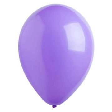 Obrázek Dekorační balonky pastelové fialové 28 cm - 50 ks