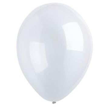 Obrázek Dekorační balonky krystalické průhledné 28 cm - 50 ks