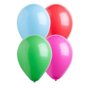 Obrázek Dekorační balonky pastelové mix 28 cm - 50 ks