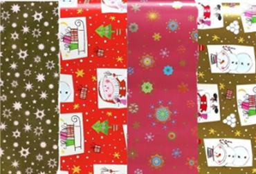 Obrázek pro kategorii Vánoční dárkové papíry, tašky a stuhy