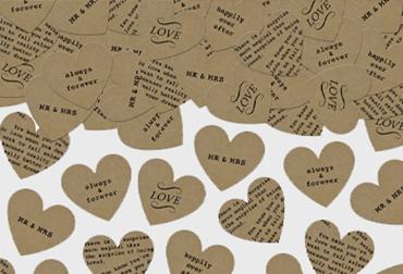 Obrázek pro kategorii Svatební konfety