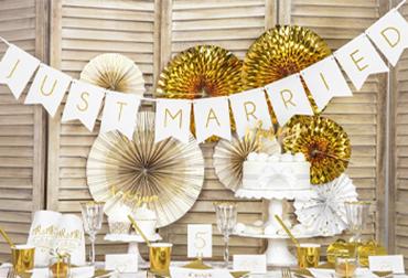 Obrázek pro kategorii Svatební závěsné dekorace