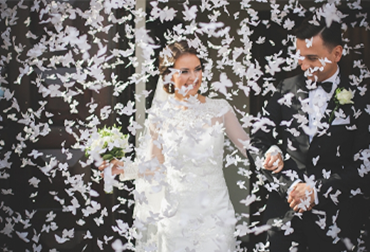 Obrázek pro kategorii Svatební vystřelovací konfety