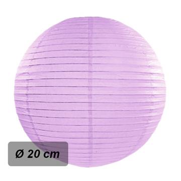 Obrázek Lampion kulatý 20 cm lila