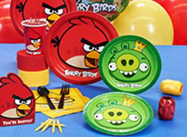 Obrázek pro kategorii Angry Bidrs party