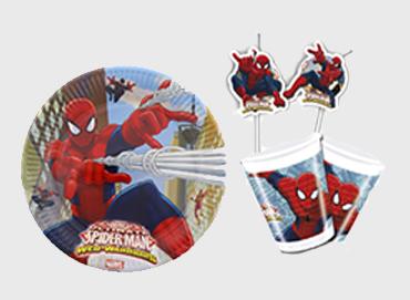 Obrázek pro kategorii Spiderman party