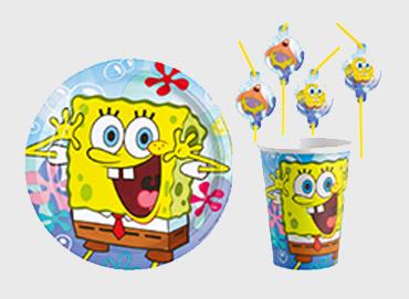 Obrázek pro kategorii Sponge Bob party