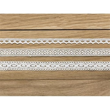 Obrázek Krajka bílá 150 cm - 3 ks