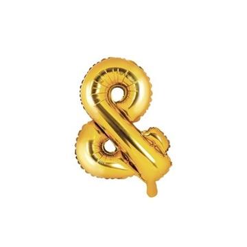 Obrázek Foliový symbol And zlatý 35 cm
