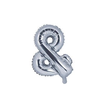 Obrázek Foliový symbol And stříbrný 35 cm