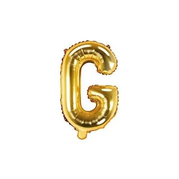 Obrázek Foliové písmeno G zlaté 35 cm