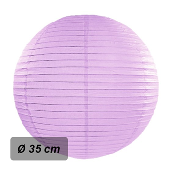 Obrázek Lampion kulatý 35 cm lila