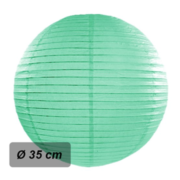 Obrázek Lampion kulatý 35 cm mint